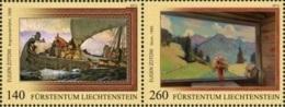 Liechtenstein 2013 Mih. 1690/91 Paintings. Eugen Zotow (joint Issue Liechtenstein-Russia) MNH ** - Liechtenstein