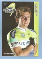 Rho (Lombardia) Daniele Colli 2 Scans Liquigas Bianchi Pro Cycling Team 2005 - Rho