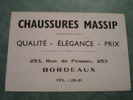 Chaussures MASSIP - Qualité-Elégance-Prix - 253, Rue De Pessac à BORDEAUX - Chaussures