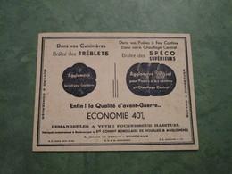 Dans Vos Cuisinières Brûlez Des TREBLETS - Buvards, Protège-cahiers Illustrés