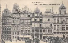 BRUXELLES - Grand'Place - Maisons Des Corporations - Marktpleinen, Pleinen