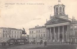 BRUXELLES - Place Royale St-Jacques Sur Coudenberg - Marktpleinen, Pleinen