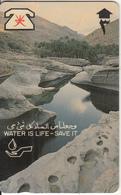 OMAN(GPT) - Water Is Life, CN : 4OMNA, 10/90, Used - Oman