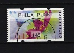 Österreich - ATM Mi-Nr. 34 Blumen PHILA PUNKT Gestempelt - 1945-.... 2. Republik