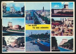 °°° 3997 - ERITREA - I'M GLAD TO SEE ASMARA - 1997 With Stamps °°° - Eritrea