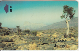OMAN(GPT) - Juniper, CN : 44OMND/B(normal 0), Tirage 50000, 08/99, Used - Oman