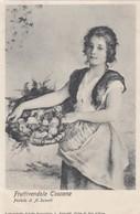 SIENA-FIRENZE-PISTOIA-LIVORNO-fruttivendola Toscana-CARTOLINA ANNO 1900-1904 - Siena