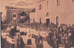 PALESTINE ( Israël ) BETHLEEM . Entrée Triomphale Du Patriarche Latin Le 24 Décembre 1886 - Palestine