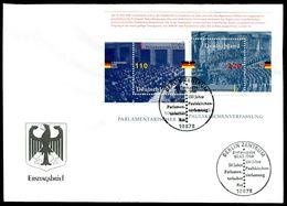00649l) BRD - Mi Block 43 = 1986 / 1987 - FDC - 110-220Pf     Parlamentarischer Rat, Pauluskirchenverfassung - FDC: Brieven