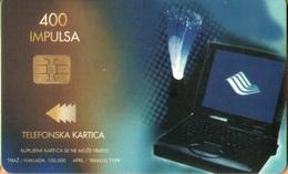 Bosnia - BA-PTT-0026, Computer / Isdn, 4/99, Used As Scan - Bosnia