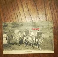 CPA Photo Rare 1910 Afrique - Ethiopie - Cavaliers Abyssins - Chevaux, Tenue Tradition, Bon état - Ethiopia