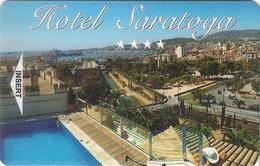 SPAGNA KEY HOTEL SARATOGA Palma De Mallorca (Baleares) - Hotel Keycards