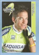 Reading (Berkshire England) Dario David Cioni 2 Scans Liquigas Bianchi Pro Cycling Team 2005 - Reading