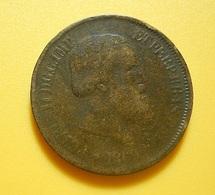 Brazil 20 Reis 1869 - Brazil