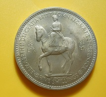 Great Britain 1 Crown 1953 - 1902-1971 : Post-Victorian Coins