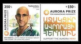Armenia 2018 Mih. 1064 Medicine. Surgeon Tom Catena MNH ** - Arménie