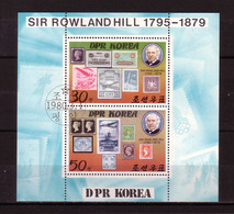 370h * KOREA NORD  BLOCK AUS 1973/4 * HILL * GESTEMPELT **!! - Korea (...-1945)