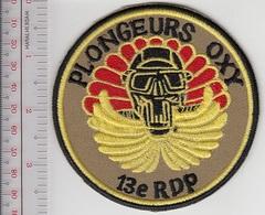 France Army 13th Regiment Dragons Para SCUBA 13e Regiment Dragons Para Chuteurs Palmeurs - Patches