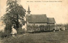 BIOL - BOIL LE HAUT - LA CHAPELLE SAINT - PAUL & TILLEUL SECULAIRE - ARBRE - ANIMATION - France