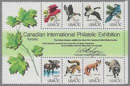 USA SG MS1726 1978 'CAPEX 78' International Stamp Exhibition Miniature Sheet Unmounted Mint [37/30910/7D] - Ganze Bögen