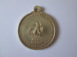 Medaillon Prince(1851-1852)-President(1848-1852) Louis Napoleon Bonaparte 1851,diameter=23 Mm - Before 1871