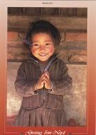 """Nepal,""""NAMASTE"""" Child - Nepal"""
