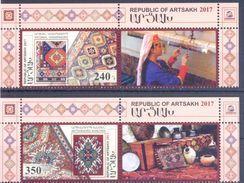 2017. Mountainous Karabakh, Carpets Of Karabakh, 2v With Labels, Mint/** - Arménie