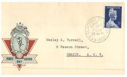 (345) Australia FDC Cover - Post Office Of Australia - 1961 - Melba - FDC
