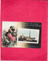 HAIFA - PALESTINE - Statue De La Sainte Vierge Au Mont Carmel - RARE - BARA** - - Palestine