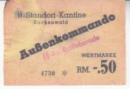 2282  BUCHENWALD  50  RM - 50 Reichsmark