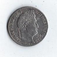 Louis Philippe 1/2 Franc 1835 A Argent - G. 50 Centesimi