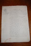 BAIL A FERME : Décembre 1885. Maître Dumont, Notaire à VALLIERE Arrondissement D'AUBUSSON - Creuse 23 - Vieux Papiers