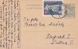 Yugoslavia 2 Din Red Cross , Varazdinske Toplice 1960 - Ganzsachen