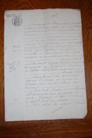 ACTE NOTARIAL : échange Terrains 1903, Maître Dumont, Notaire à Vallière Arrondissement D'AUBUSSON - Creuse 23 - Vieux Papiers