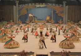 AK - Wiener Eisrevue 1964 - TANZENDE WELT - Orig. Signaturen U.a. Ingrid Wendl - Eiskunstlauf
