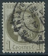 N°50 NUANCE ET OBLITERATION - 1871-1875 Cérès