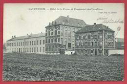 Zaventem - Hôtel De La Ferme Et Pensionnat Des Ursulines - 1910  ( Verso Zien ) - Zaventem