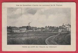 Zaventem / Vue De Saventhem D'après M. Flachet - Usine, Industries -1928  ( Verso Zien ) - Zaventem