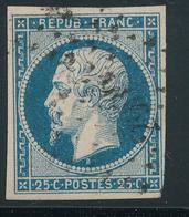 N°10 NUANCE ET OBLITERATION - 1853-1860 Napoléon III
