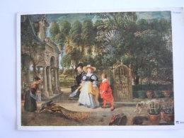 Pieter Paul Rubens Tableau Der Künstler Und Seine Zweite Gattin Im Garten L'artiste Avec Sa Deuxième Femme Au Jardin - Peintures & Tableaux