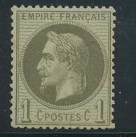 N°25 NEUF * - 1863-1870 Napoléon III. Laure