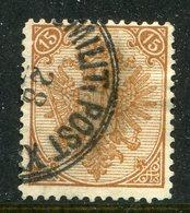 Oesterreich-Bosnien Und Herzegowina / 1879 / Mi. 6 O (10372) - Bosnia And Herzegovina