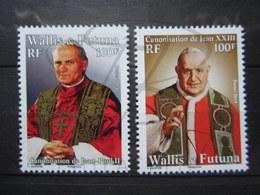 VEND BEAUX TIMBRES DE WALLIS ET FUTUNA N° 812 + 813 , XX !!! - Wallis-Et-Futuna