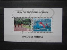 VEND BEAU BLOC DE WALLIS ET FUTUNA N° 26 , XX !!! - Blocks & Sheetlets