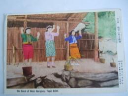 Taiwan The Dance Of Wulai Aborigines Tapei Hsien Verstuurd In België 1982 - Taiwan