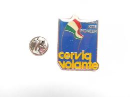 Beau Pin's , Sport , Cerf Volant , Cervia Volante , Italian Kite Pioneer - Badges