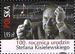 2011.03.07. 100th Birth Anniversary Of Stefan Kisielewski  (security Perforation At The Rigth) - MNH - Nuevos