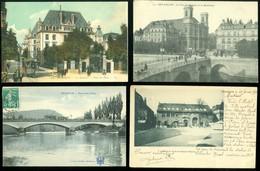 Lot De 20 Cartes Postales De France  Doubs  Besançon      Lot Van 20 Postkaarten Van Frankrijk ( 20 ) - 20 Scans - Postkaarten