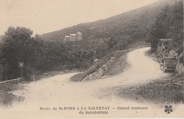 18 / 6 / 112  -  ROUTE  DE  ST.  PONS  À  LA  SALVETAT - Saint-Pons-de-Mauchiens