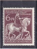 Deutsches Reich, Nr. 907 II**. (T 6155) - Varietà